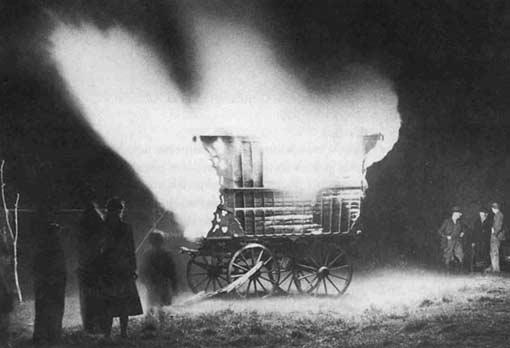 brennender Wagen