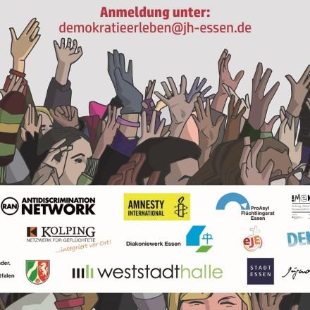 Plakat Demokratietage